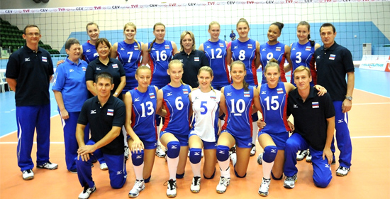 russland volleyball frauen